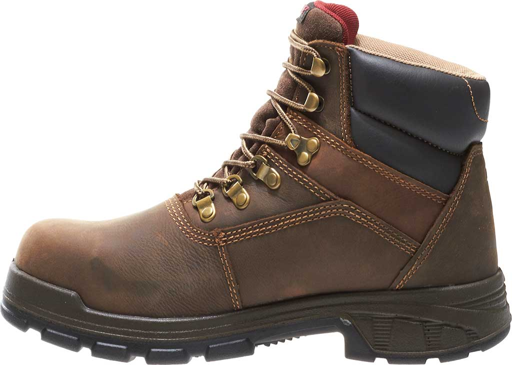 """Men's Wolverine Cabor EPX PC Dry Waterproof 6"""" Composite Toe Boot, Dark Brown, large, image 3"""