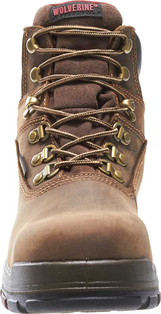 """Men's Wolverine Cabor EPX PC Dry Waterproof 6"""" Composite Toe Boot, Dark Brown, large, image 4"""