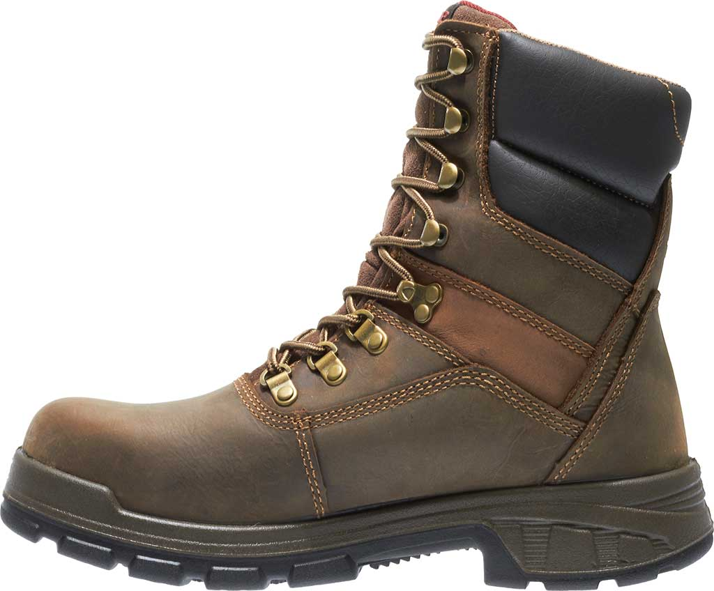 """Men's Wolverine Cabor EPX PC Dry Waterproof 8"""" Composite Toe Boot, Dark Brown, large, image 3"""
