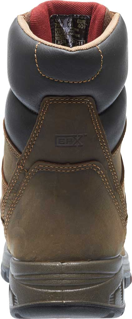 """Men's Wolverine Cabor EPX PC Dry Waterproof 8"""" Composite Toe Boot, Dark Brown, large, image 4"""