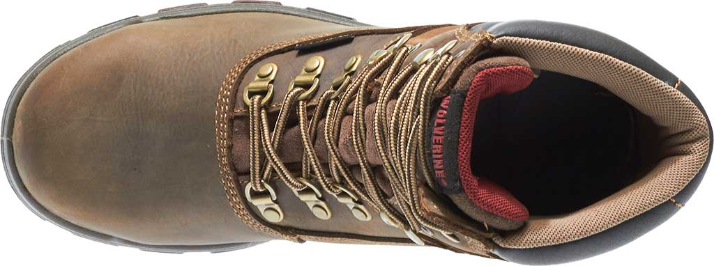 """Men's Wolverine Cabor EPX PC Dry Waterproof 8"""" Composite Toe Boot, Dark Brown, large, image 5"""