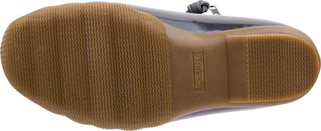 Women's Sperry Top-Sider Saltwater Duck Boot, Dark Grey Quilted Nylon, large, image 6