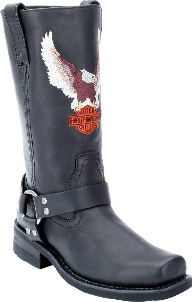 Men's Harley-Davidson Darren, Black Leather, large, image 1