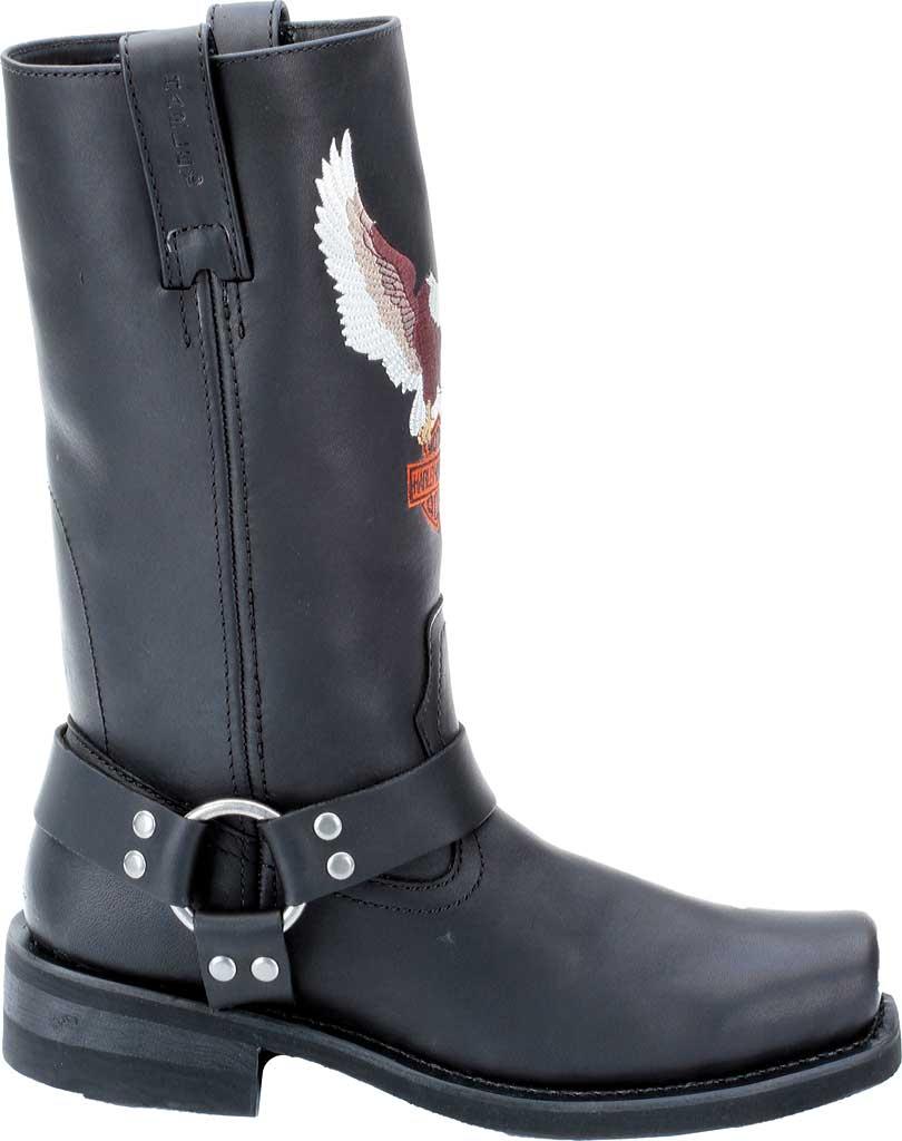 Men's Harley-Davidson Darren, Black Leather, large, image 2