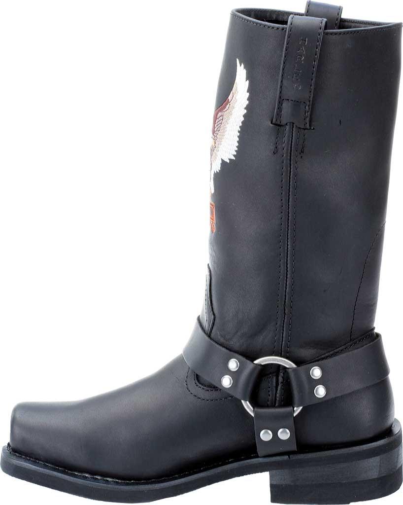 Men's Harley-Davidson Darren, Black Leather, large, image 3