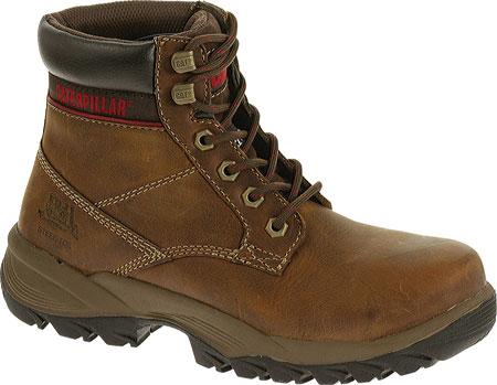 "Women's Caterpillar Dryverse 6"" Waterproof Boot, Dark Brown Full Grain Leather, large, image 1"