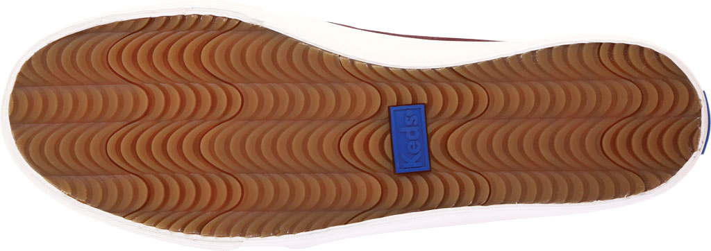 Women's Keds Double Decker Slip-On, White Leather, large, image 6