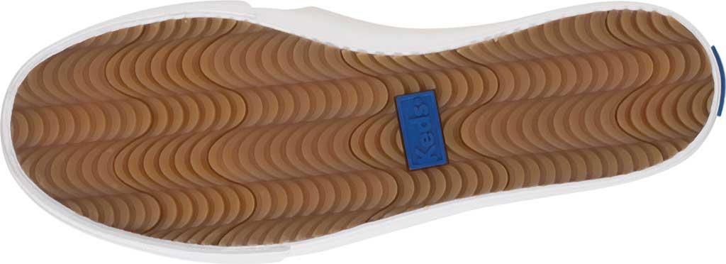 Women's Keds Double Decker Slip-On, White Leather, large, image 5