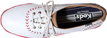 Women's Keds Champion Pennant, Off White Leather, large, image 3