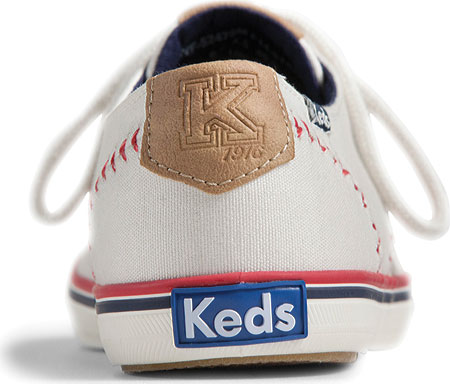Women's Keds Champion Pennant, Off White Canvas, large, image 2