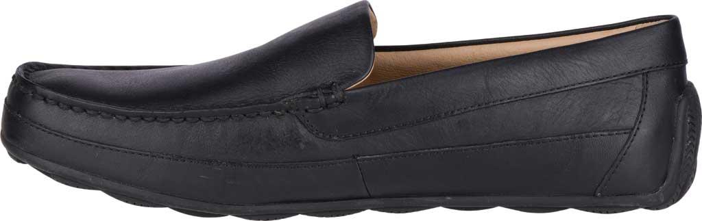 Men's Sperry Top-Sider Hampden Venetian, Black Leather, large, image 3