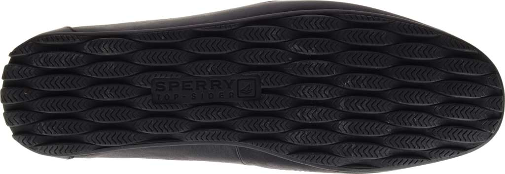 Men's Sperry Top-Sider Hampden Venetian, Black Leather, large, image 6