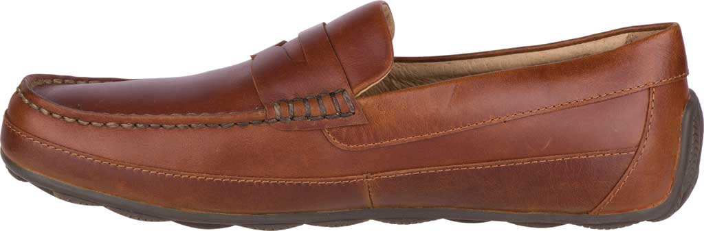 Men's Sperry Top-Sider Hampden Penny, Tan Leather, large, image 3