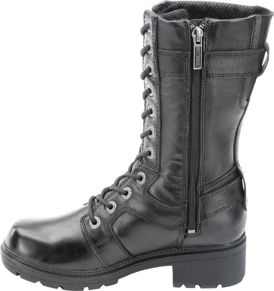Women's Harley-Davidson Eda, Black Leather, large, image 3