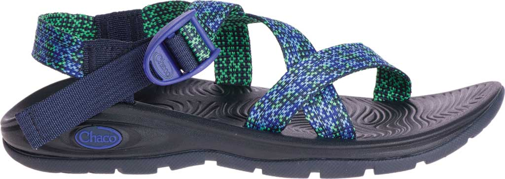 Women's Chaco Z/Volv, Scaled Royal Blue, large, image 2