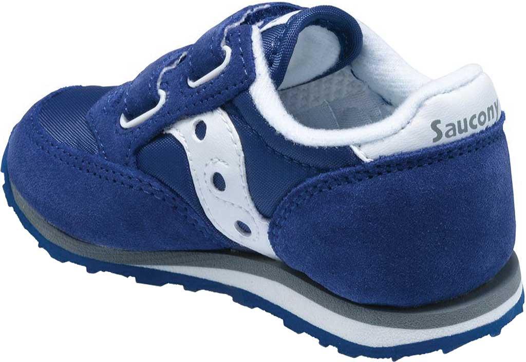 Infant Boys' Saucony Baby Jazz Hook-and-Loop Sneaker, Cobalt Blue, large, image 2