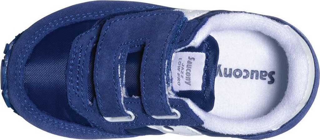 Infant Boys' Saucony Baby Jazz Hook-and-Loop Sneaker, Cobalt Blue, large, image 3