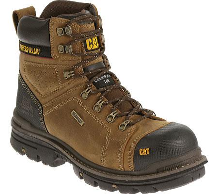 """Men's Caterpillar Hauler 6"""" Waterproof Composite Toe Boot, Dark Beige1, large, image 1"""