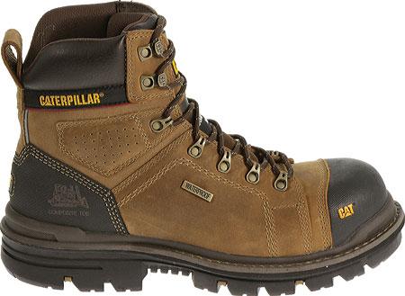 """Men's Caterpillar Hauler 6"""" Waterproof Composite Toe Boot, Dark Beige1, large, image 2"""
