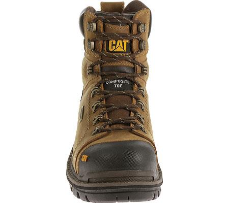"""Men's Caterpillar Hauler 6"""" Waterproof Composite Toe Boot, Dark Beige1, large, image 4"""