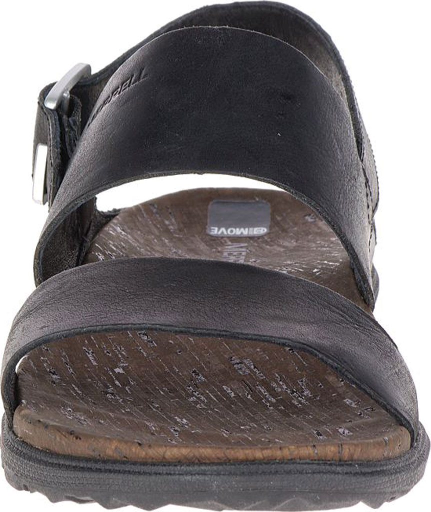 Women's Merrell Around Town Backstrap Sandal, Black/Black, large, image 3