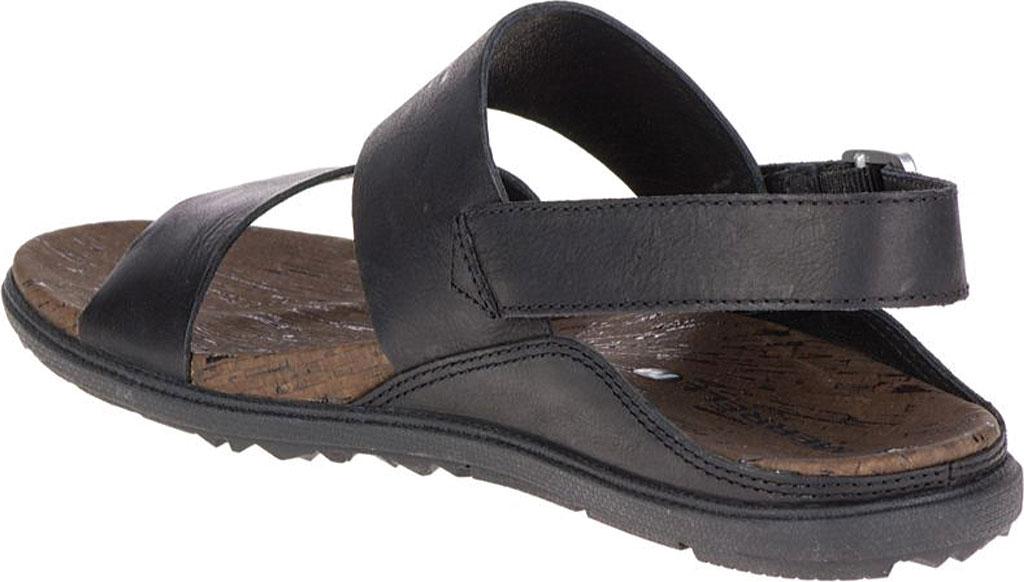 Women's Merrell Around Town Backstrap Sandal, Black/Black, large, image 4