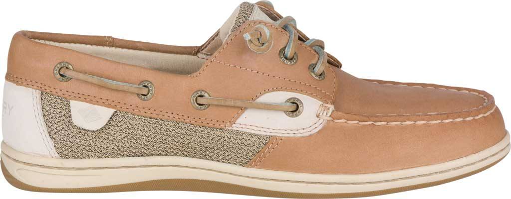 Women's Sperry Top-Sider Songfish Core Boat Shoe, Linen/Oat Leather/Textile, large, image 2