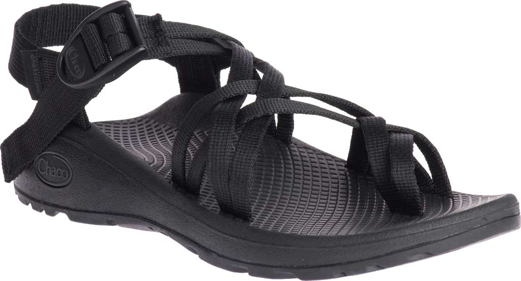 Women's Chaco Z/Cloud X2 Sandal, Solid Black, large, image 1