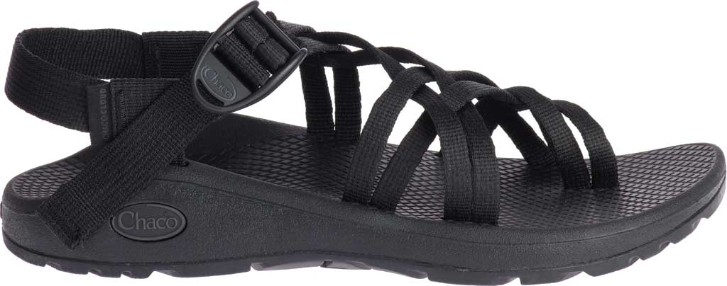 Women's Chaco Z/Cloud X2 Sandal, Solid Black, large, image 2
