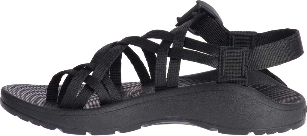 Women's Chaco Z/Cloud X2 Sandal, Solid Black, large, image 3