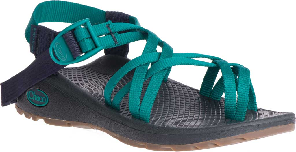Women's Chaco Z/Cloud X2 Sandal, Solid Everglade, large, image 1