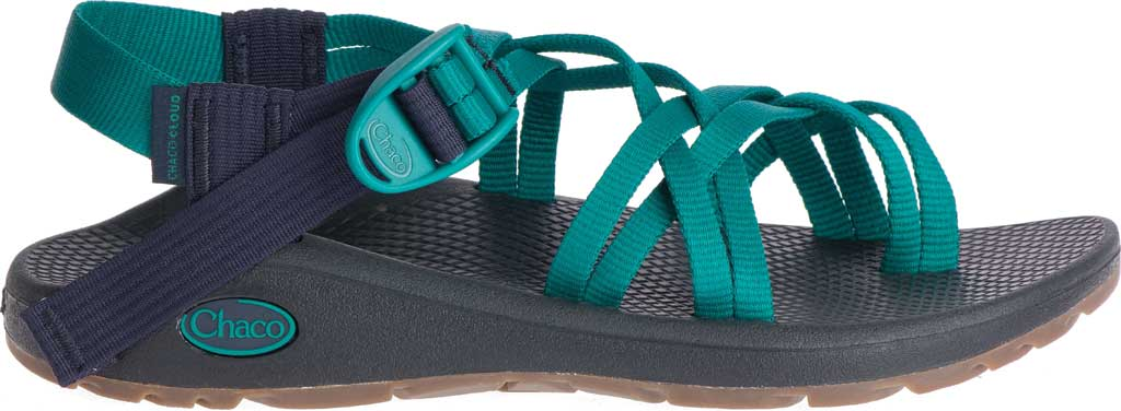 Women's Chaco Z/Cloud X2 Sandal, Solid Everglade, large, image 2