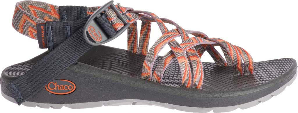 Women's Chaco Z/Cloud X2 Sandal, Zinzang Tiger, large, image 2