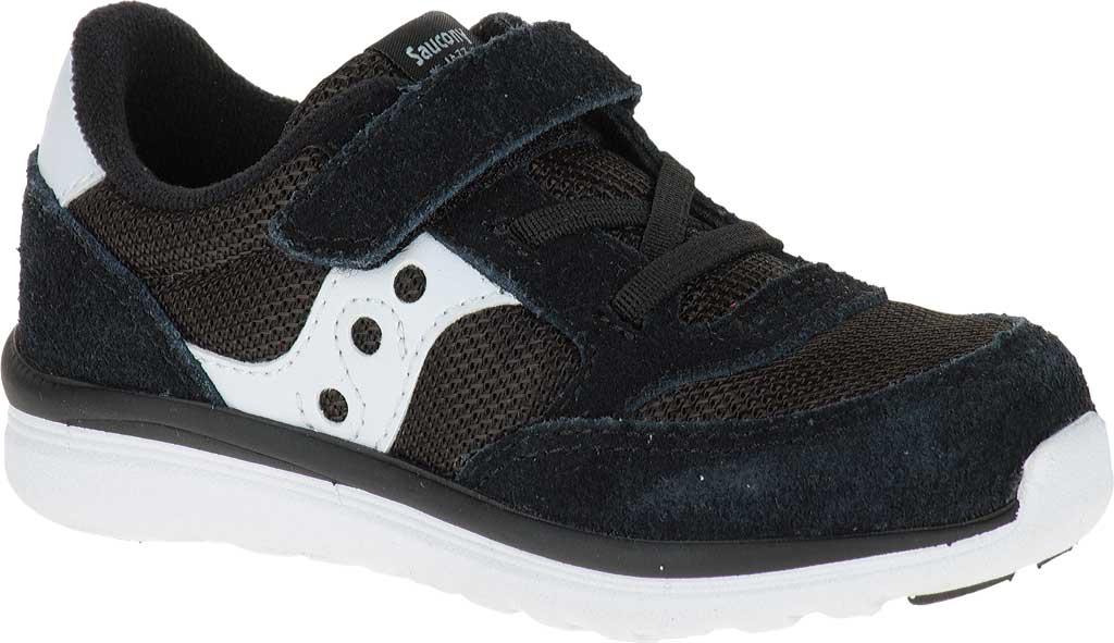 Infant Boys' Saucony Baby Jazz Lite Sneaker, Black, large, image 1