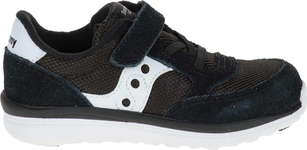 Infant Boys' Saucony Baby Jazz Lite Sneaker, Black, large, image 2