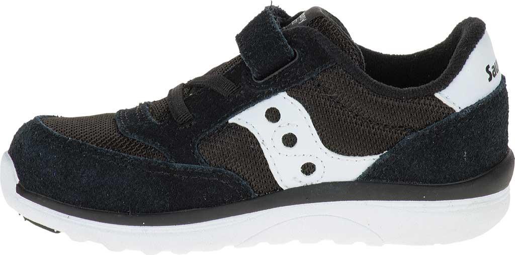 Infant Boys' Saucony Baby Jazz Lite Sneaker, Black, large, image 3