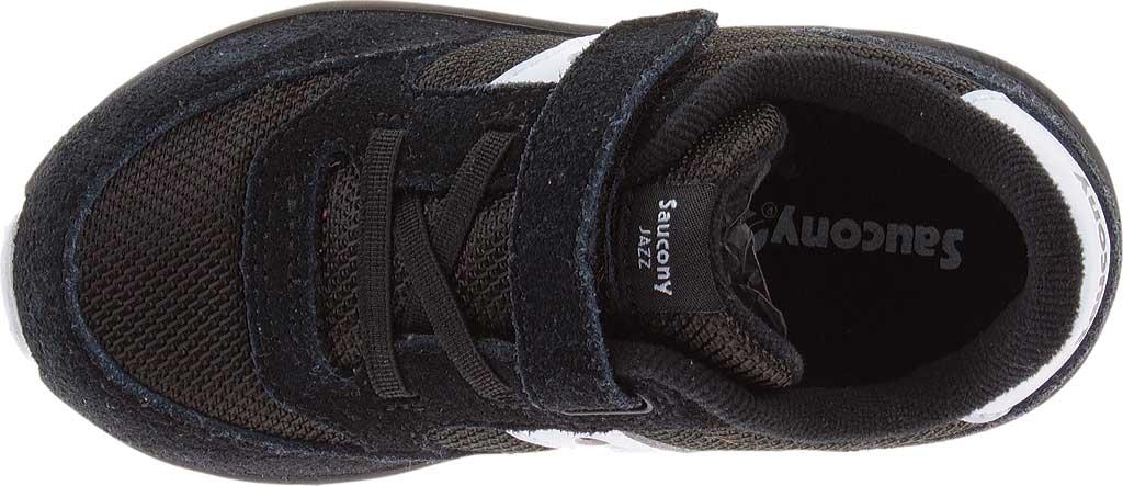 Infant Boys' Saucony Baby Jazz Lite Sneaker, Black, large, image 4