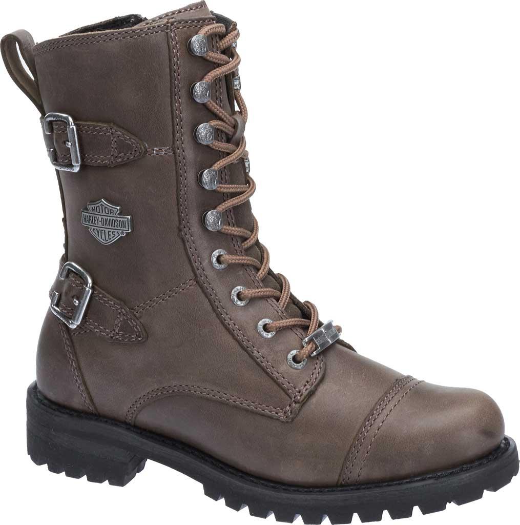Women's Harley-Davidson Balsa Boot, Slate Full Grain Leather, large, image 1
