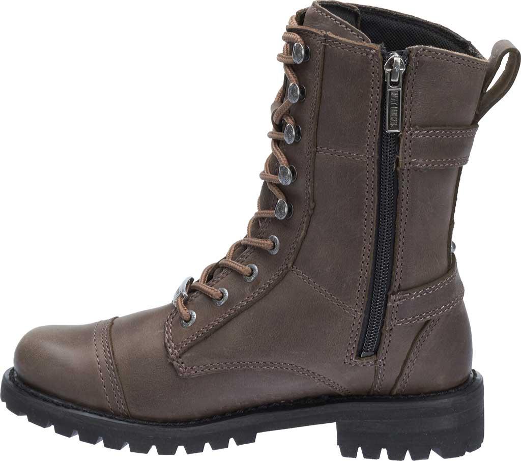 Women's Harley-Davidson Balsa Boot, Slate Full Grain Leather, large, image 3