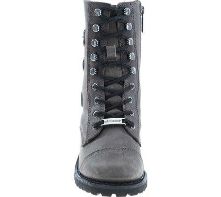 Women's Harley-Davidson Balsa Boot, Slate Full Grain Leather, large, image 4