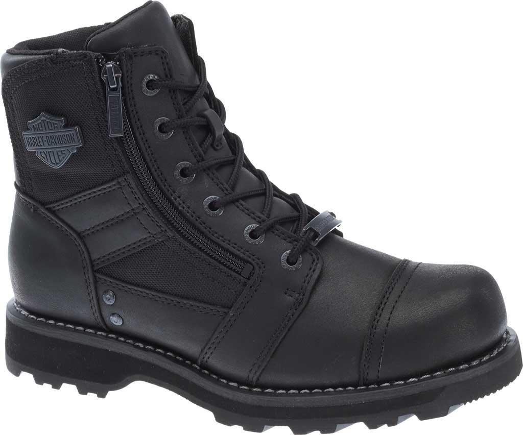 Men's Harley-Davidson Bonham Boot, Black Full Grain Leather, large, image 1
