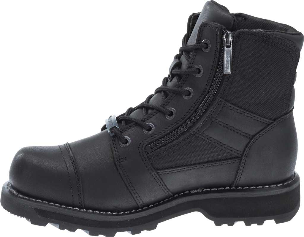Men's Harley-Davidson Bonham Boot, Black Full Grain Leather, large, image 3
