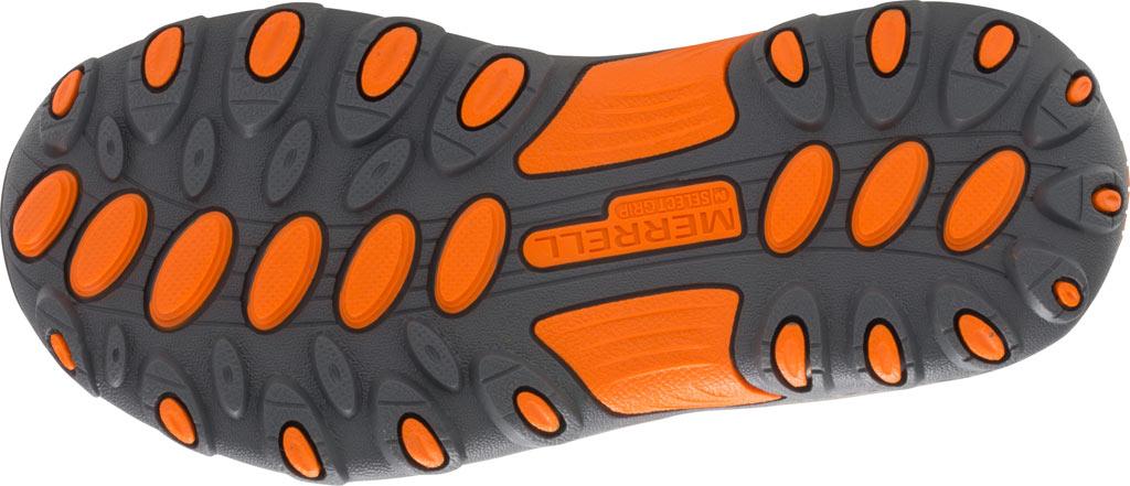 Boys' Merrell Trail Chaser Hiking Shoe Kid, Gunsmoke/Orange Suede/Mesh, large, image 3