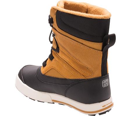 Boys' Merrell Snow Bank 2.0 Waterproof Boot Preschool, Wheat/Black Leather, large, image 3