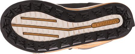 Boys' Merrell Snow Bank 2.0 Waterproof Boot Preschool, Wheat/Black Leather, large, image 4