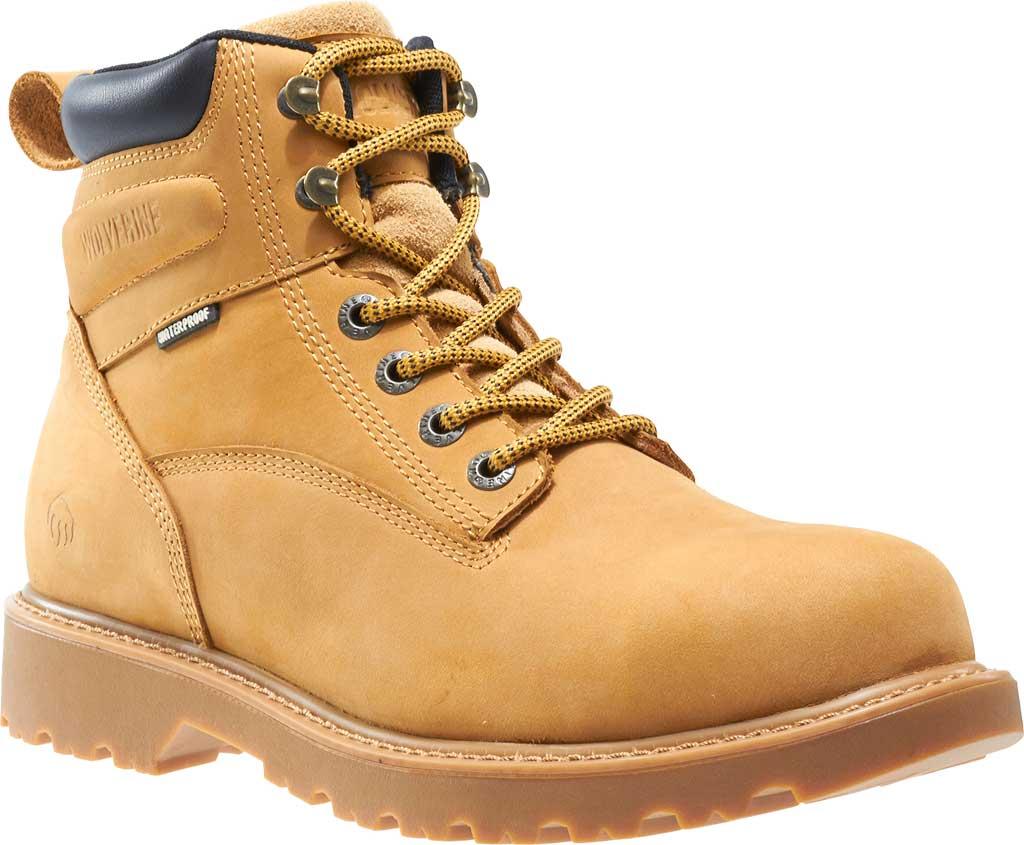 """Men's Wolverine Floorhand Waterproof 6"""" Steel Toe Work Boot, , large, image 1"""
