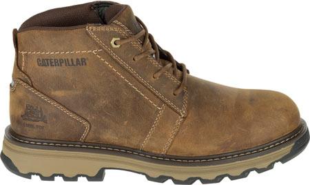 Men's Caterpillar Parker Steel Toe Chukka Boot, Dark Beige Full Grain Leather, large, image 2