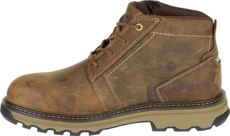 Men's Caterpillar Parker Steel Toe Chukka Boot, Dark Beige Full Grain Leather, large, image 3