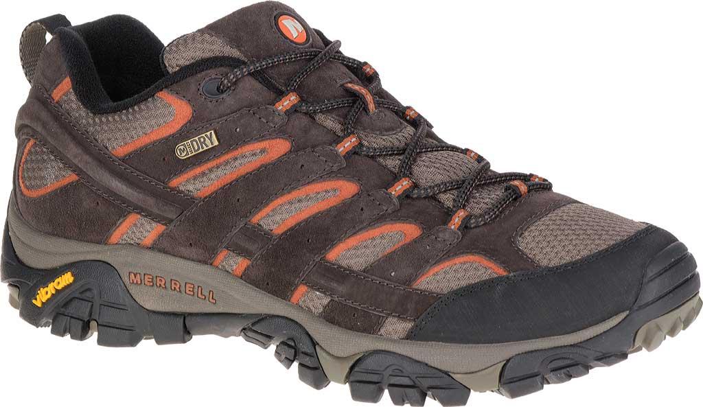 Men's Merrell Moab 2 Waterproof Hiking Shoe, Espresso, large, image 1