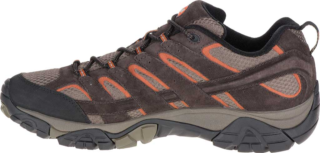 Men's Merrell Moab 2 Waterproof Hiking Shoe, Espresso, large, image 3
